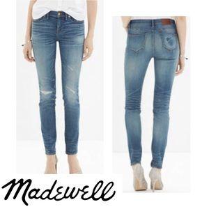 "Madewell 9"" Skinny Jeans Rip & Repair Edition"